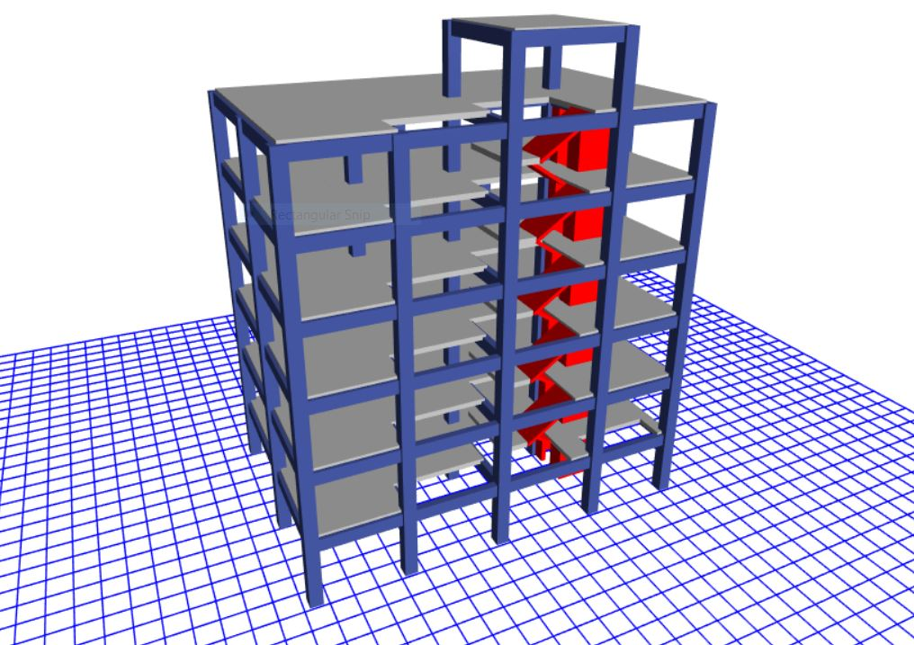 ANALYSIS AND DESIGN OF SEISMIC RESISTANT COMMERCIAL BUILDING