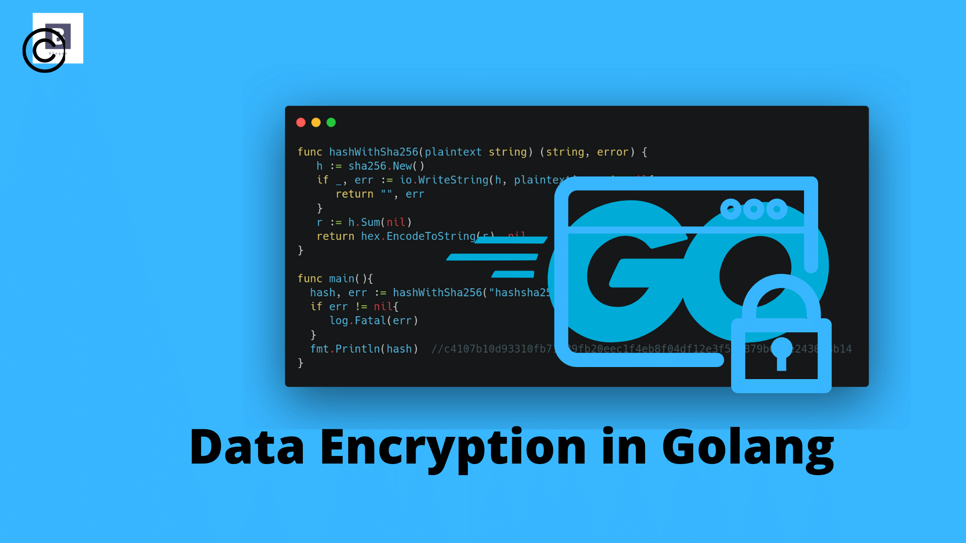 Data Encryption in Golang