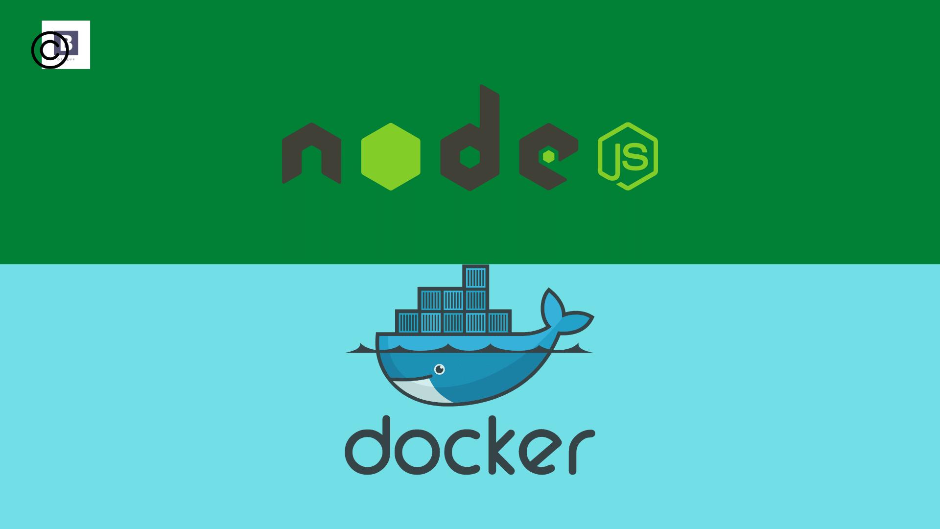 Dockerizing a Nodejs web app