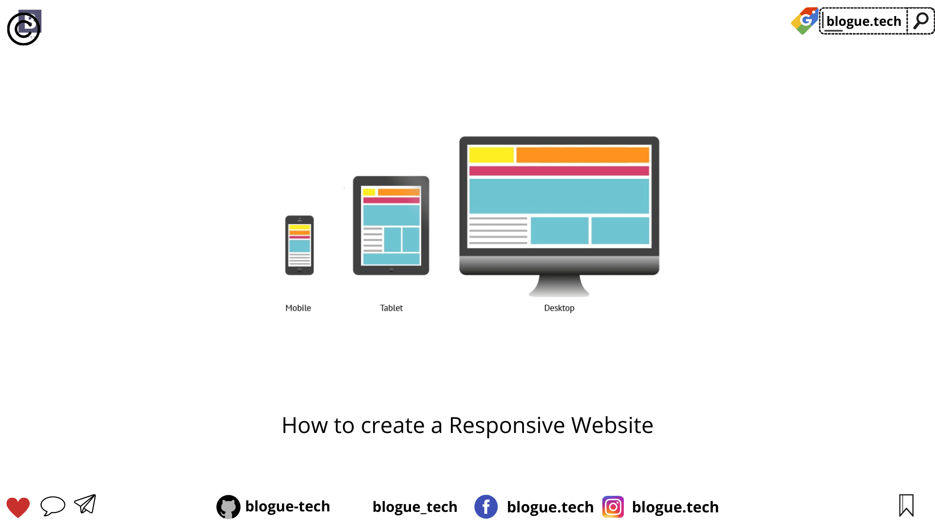 How to create a Responsive Website