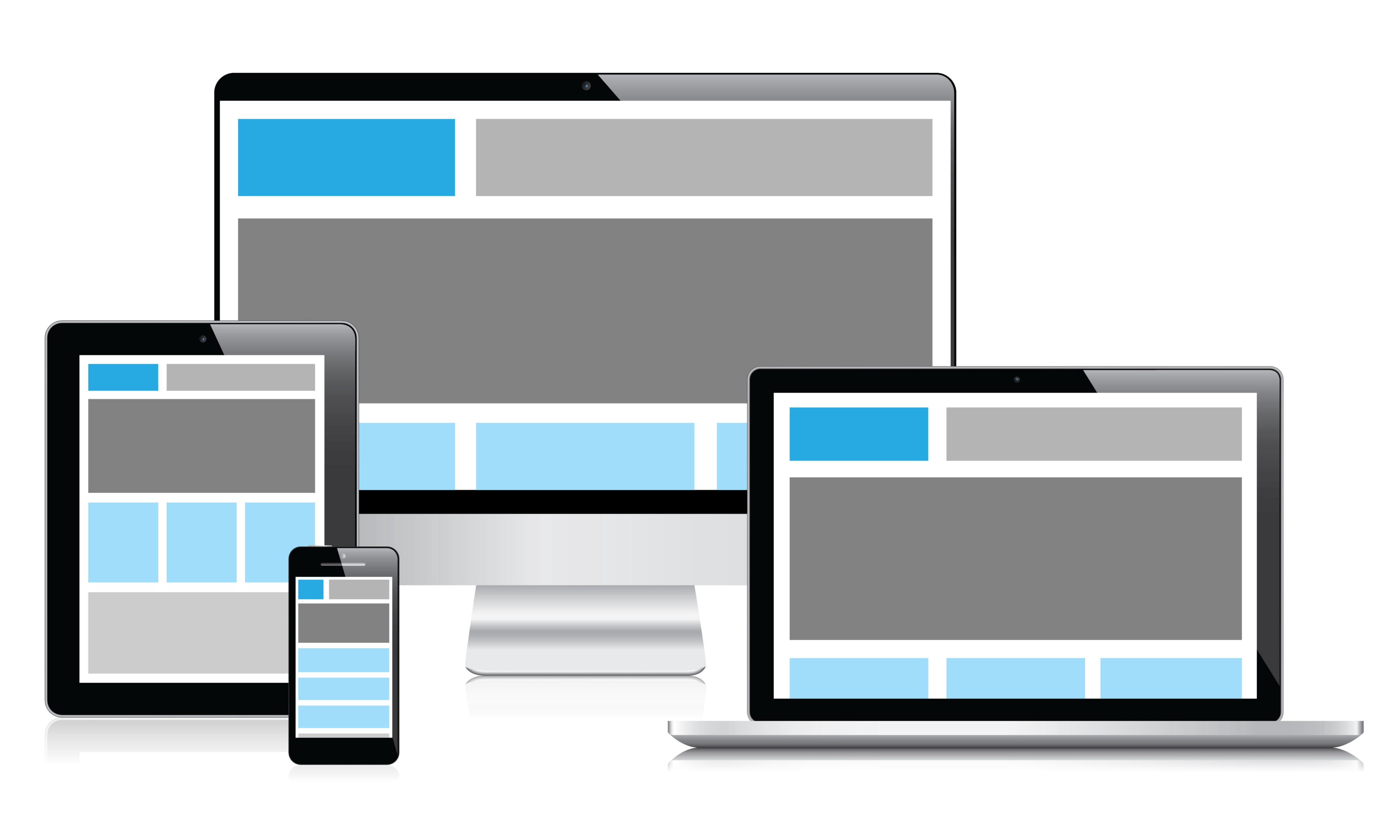 How to create responsive image in css