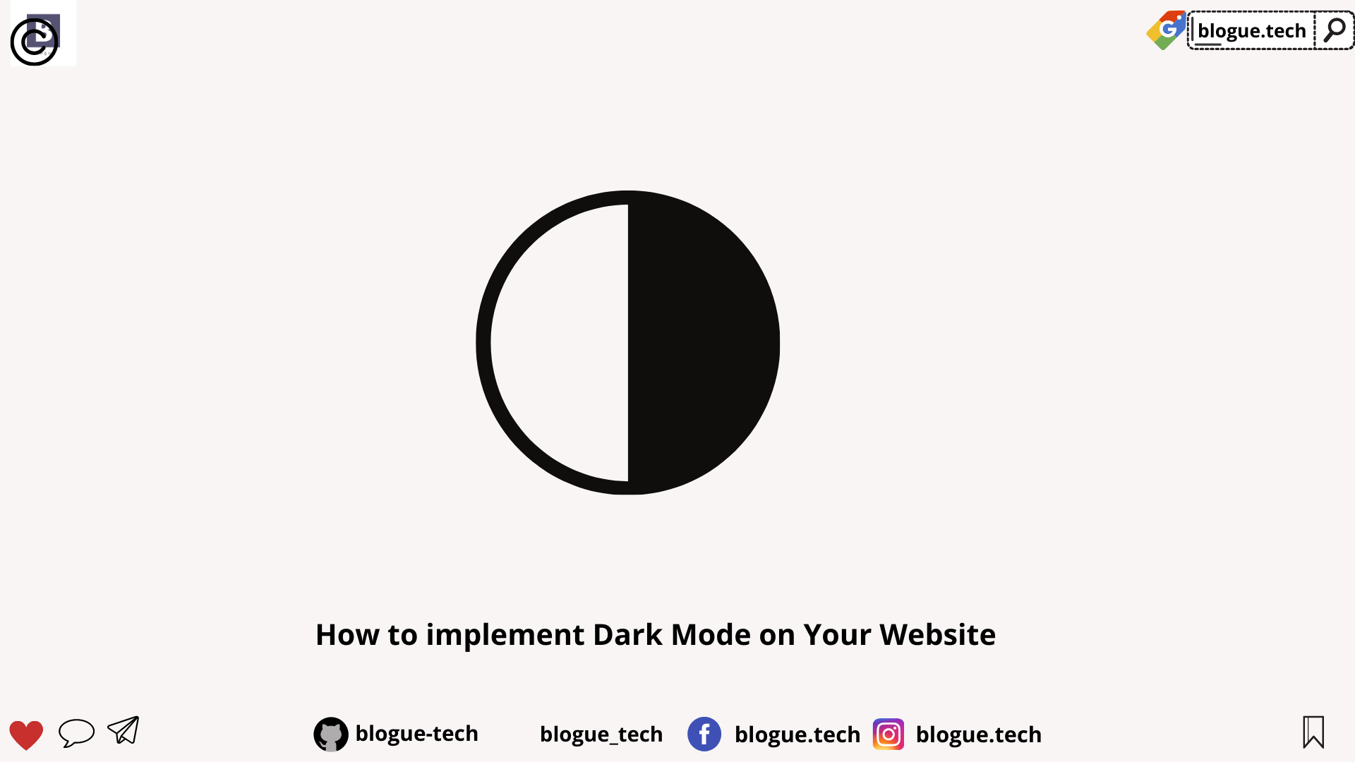 How to implement Dark Mode on Your Website
