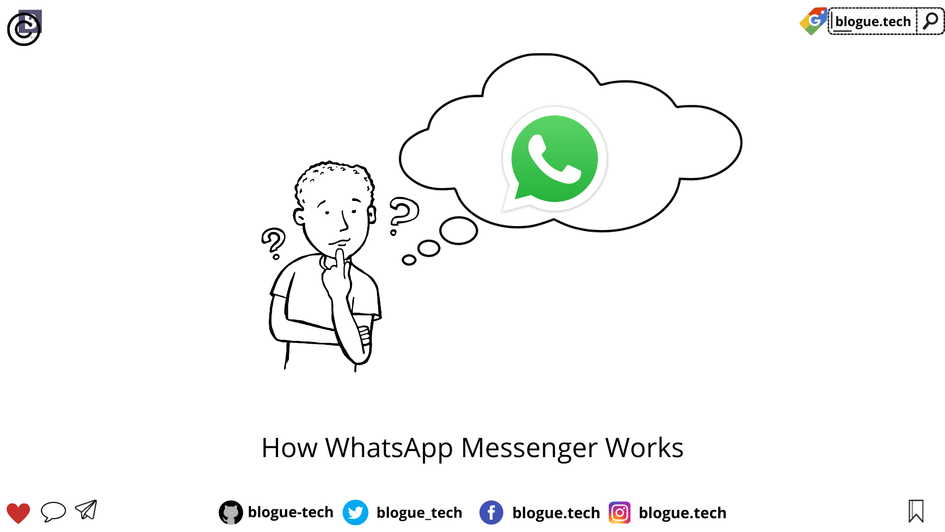 How WhatsApp Messenger Works