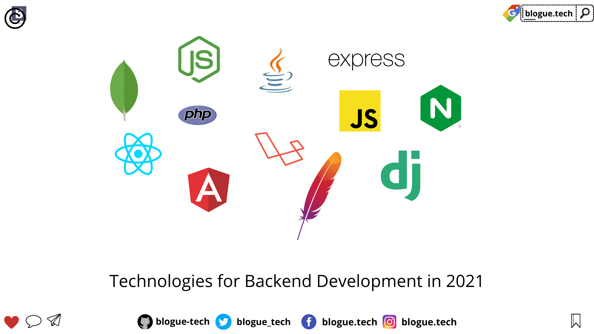 Technologies for Backend Development in 2021